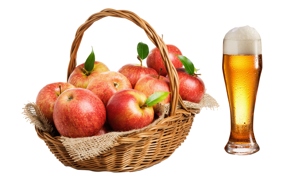 Png basket of apples. The stock photography gift