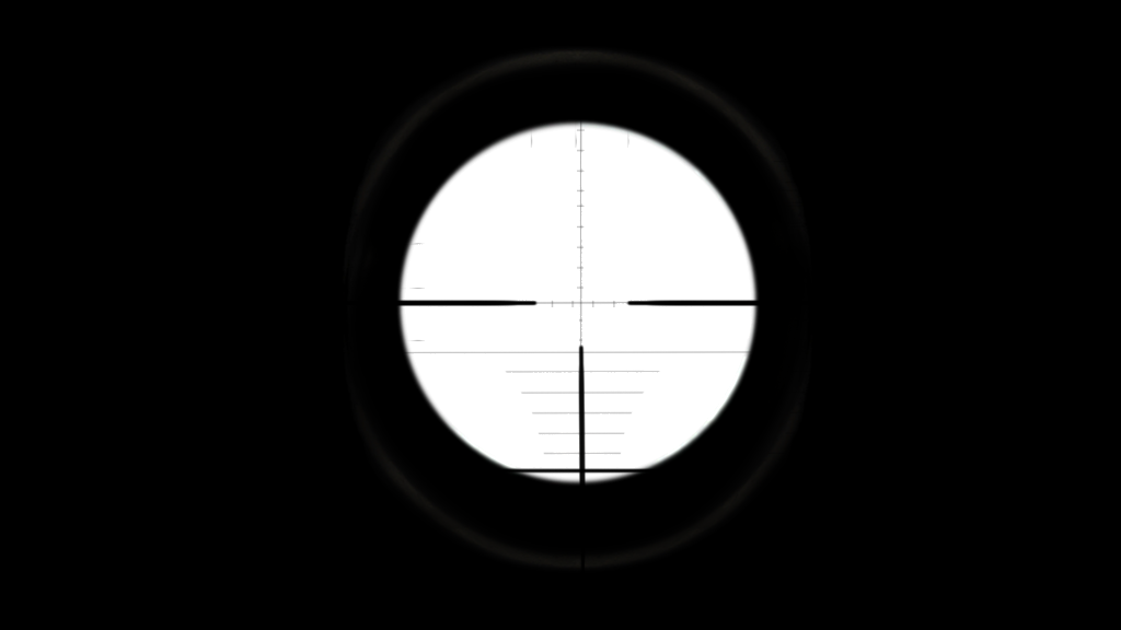 Png black background. Scope image with transparent