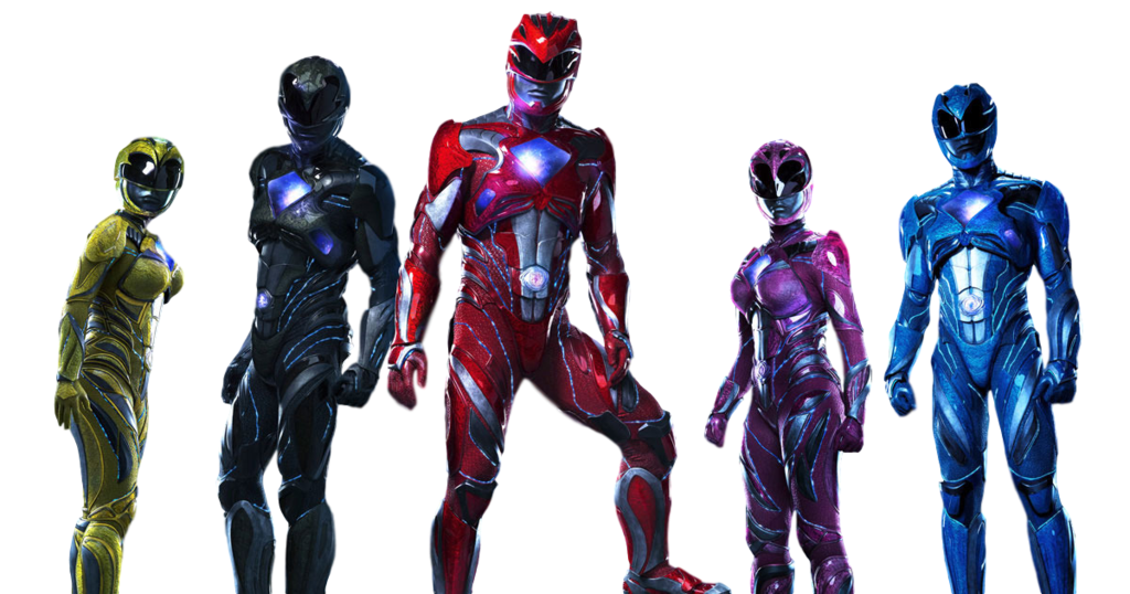 Red ranger png. Power rangers movie rita