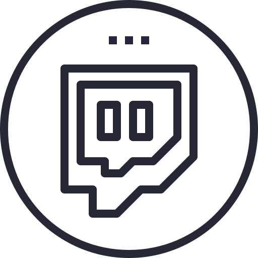 Png black net. Twitch icon ico