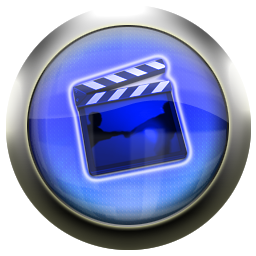 Blue movies in png. Classic icons free icon