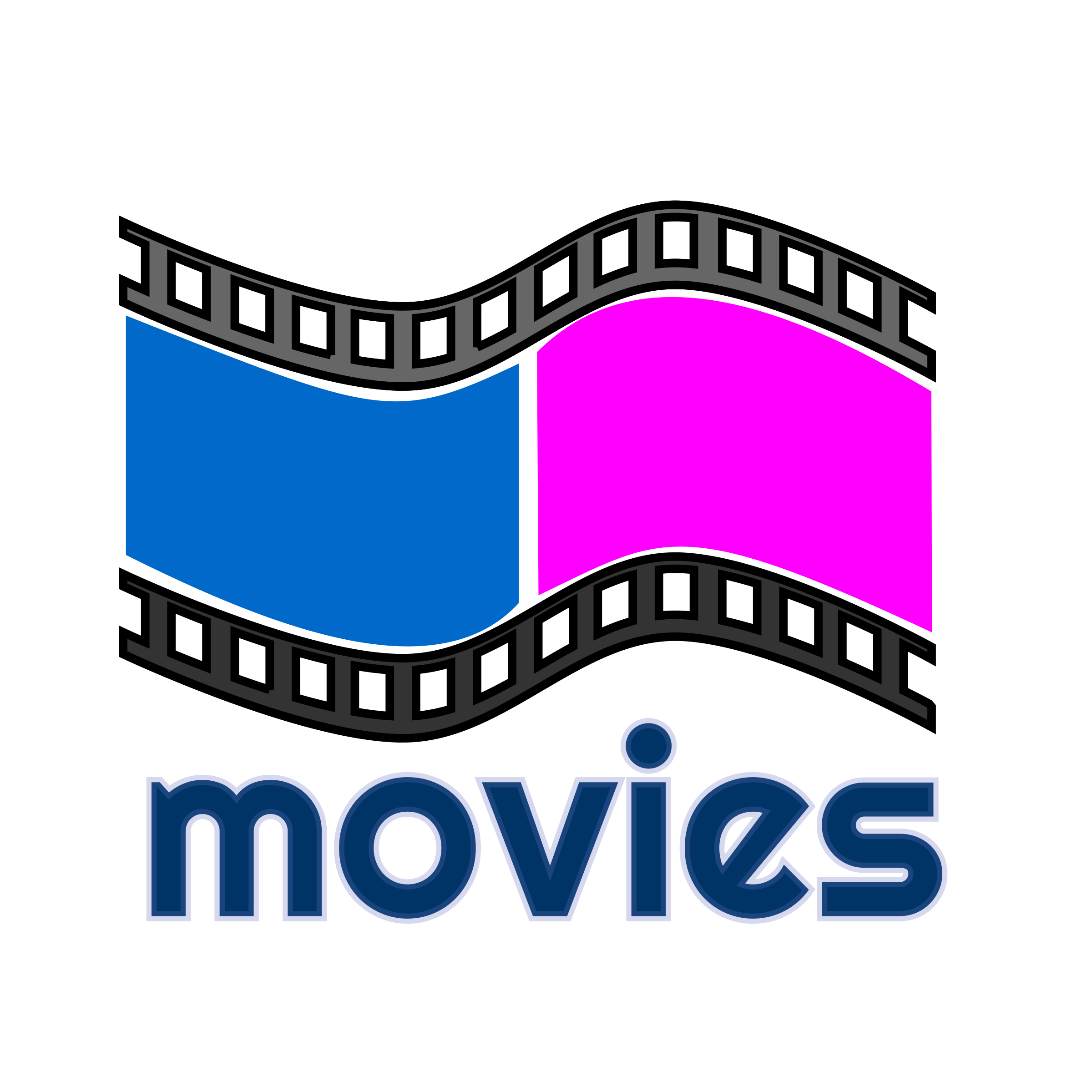 Png blue movie video. Movies icons free and