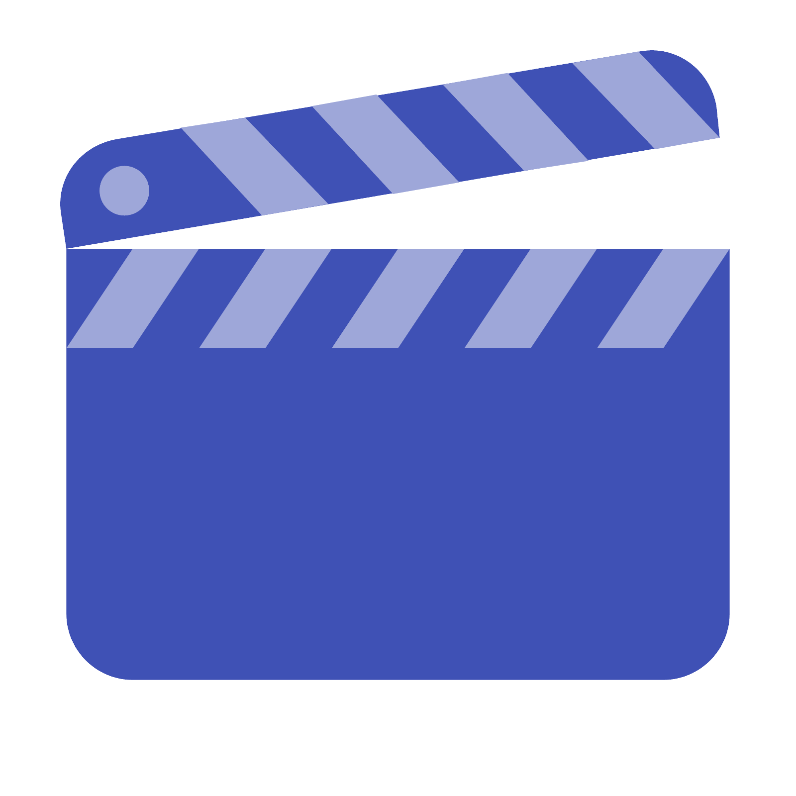 Png blue movies. Clapperboard cinematography computer icons