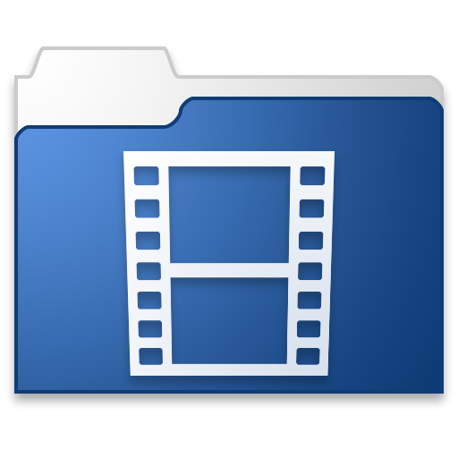 Png blue movies. Icon free download as