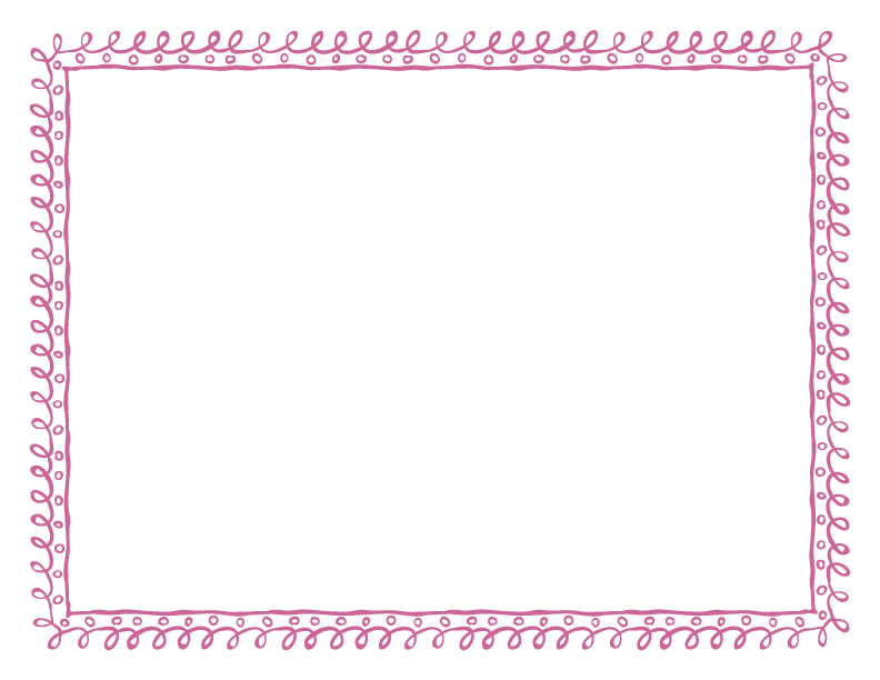 Doodle frames png. And borders dusty rose