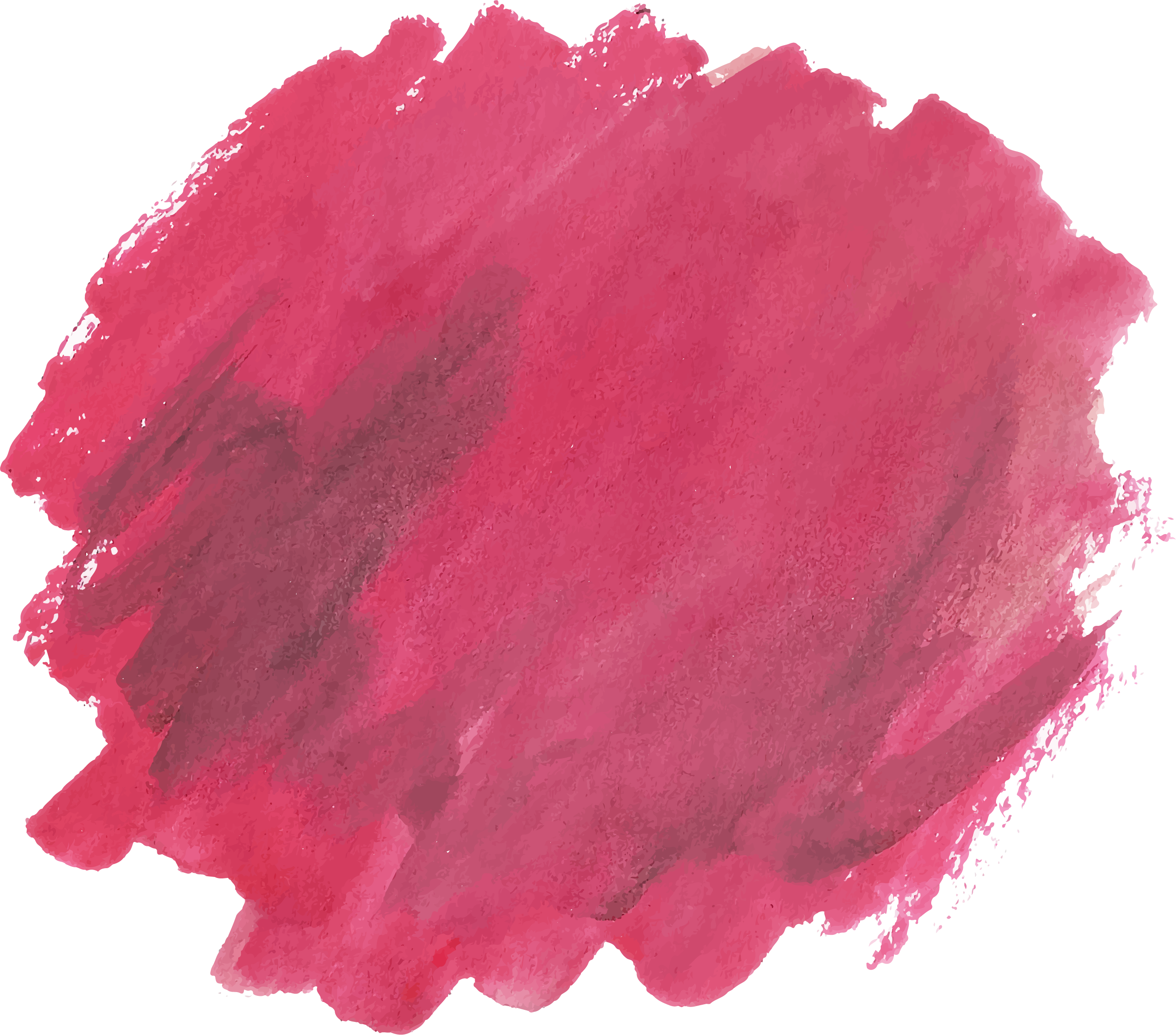 Red watercolor png. Brush painting euclidean vector