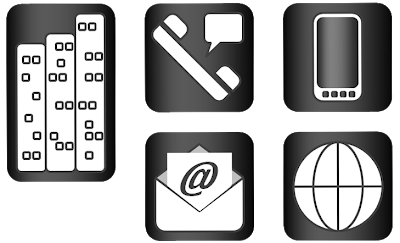 Png business cards icons photoshop. Design stuffs and thingses