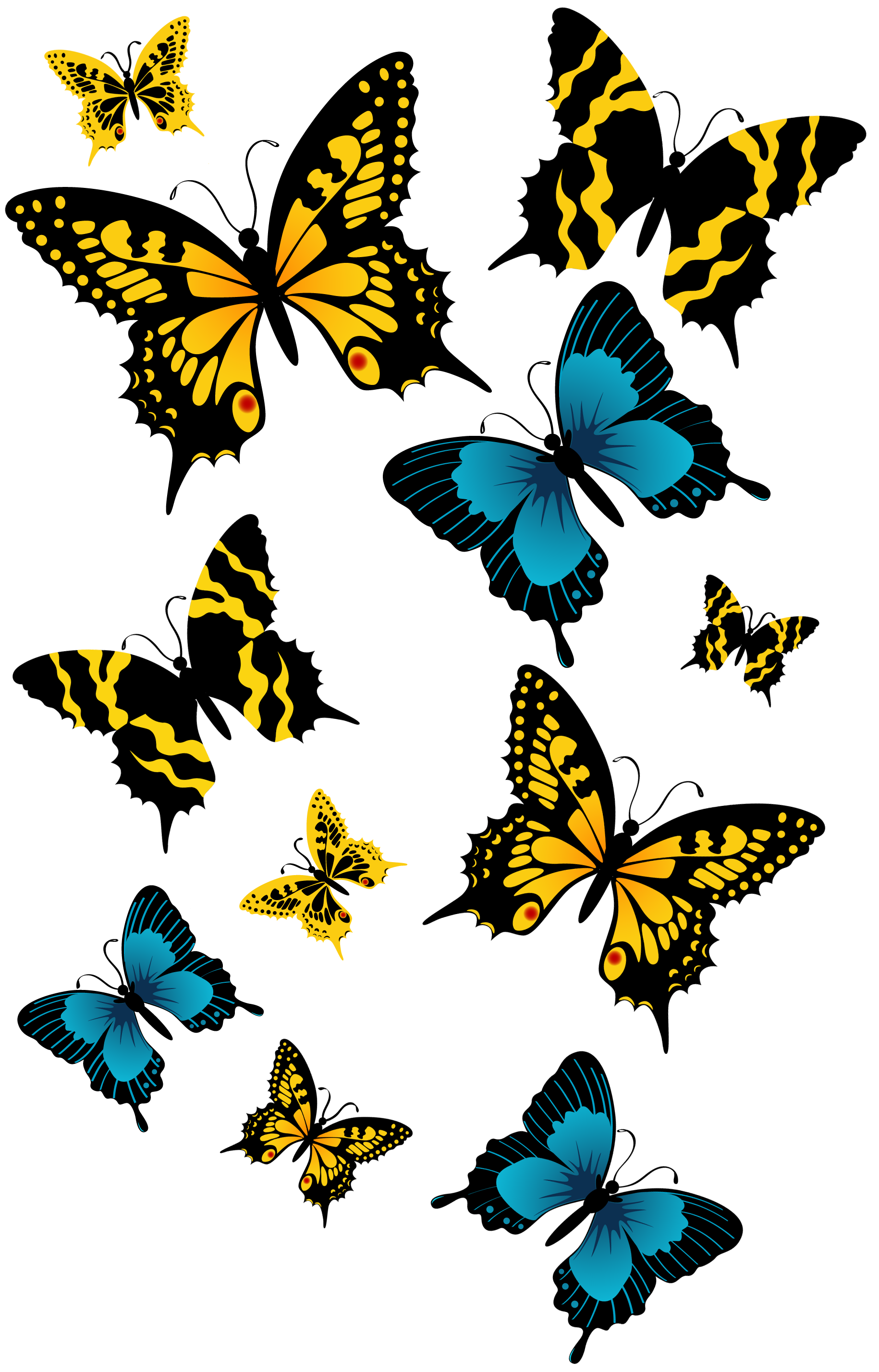 Png butterflies. Clipart picture gallery yopriceville