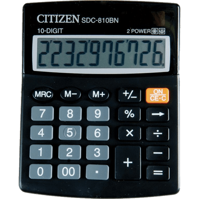 Png calculator. Citizen transparent stickpng
