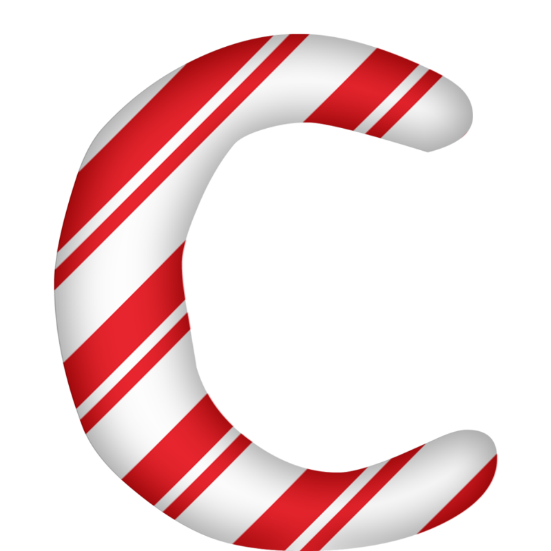 Png candy alphabet. Capital letter g holiday