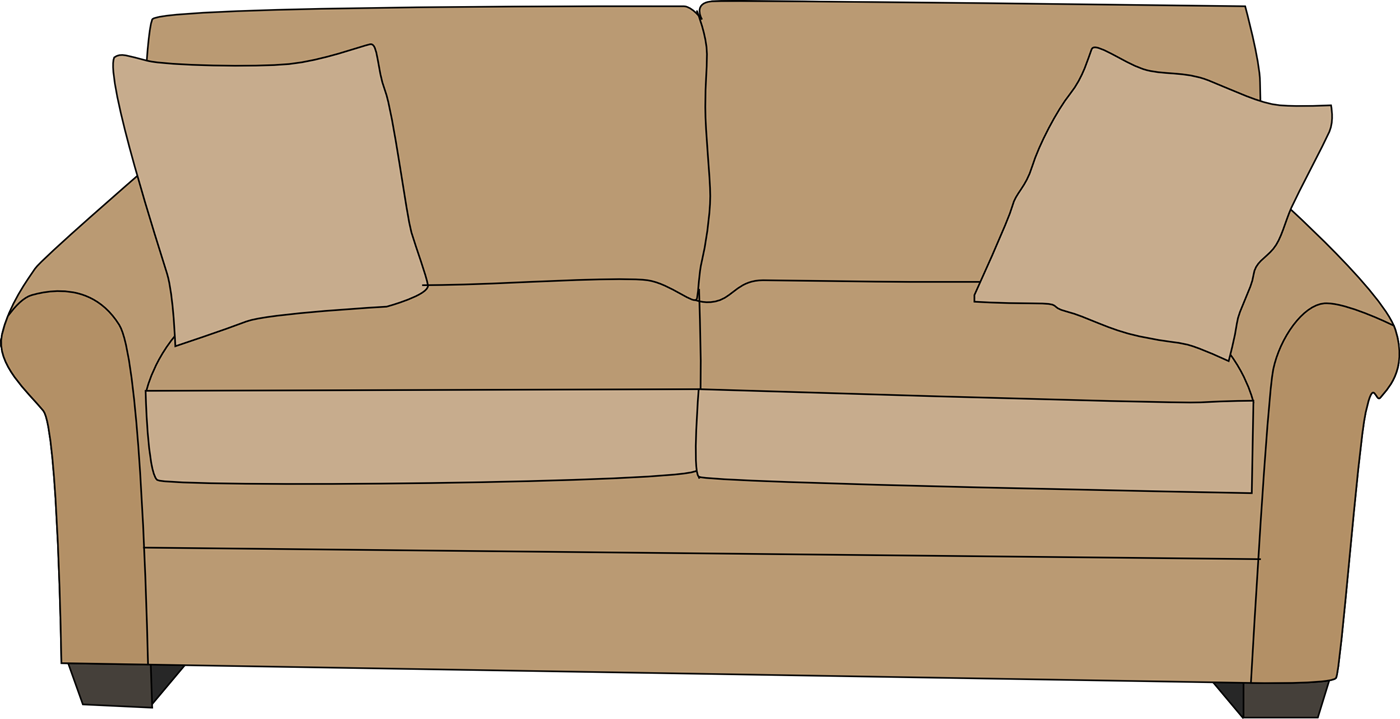 Png cartoon couch. Old transparent pictures free