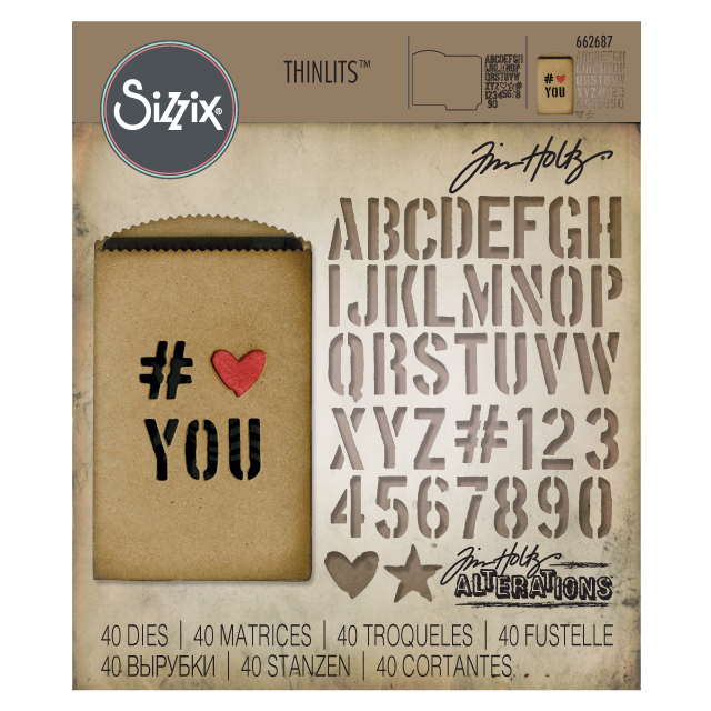 Png chalk gift card. Tim holtz alterations by