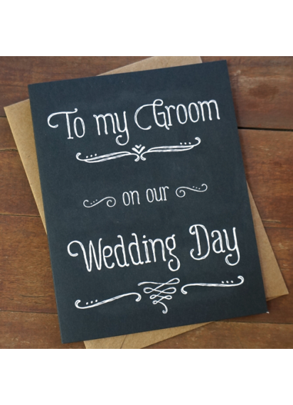 Png chalk gift card. Groom from bride to