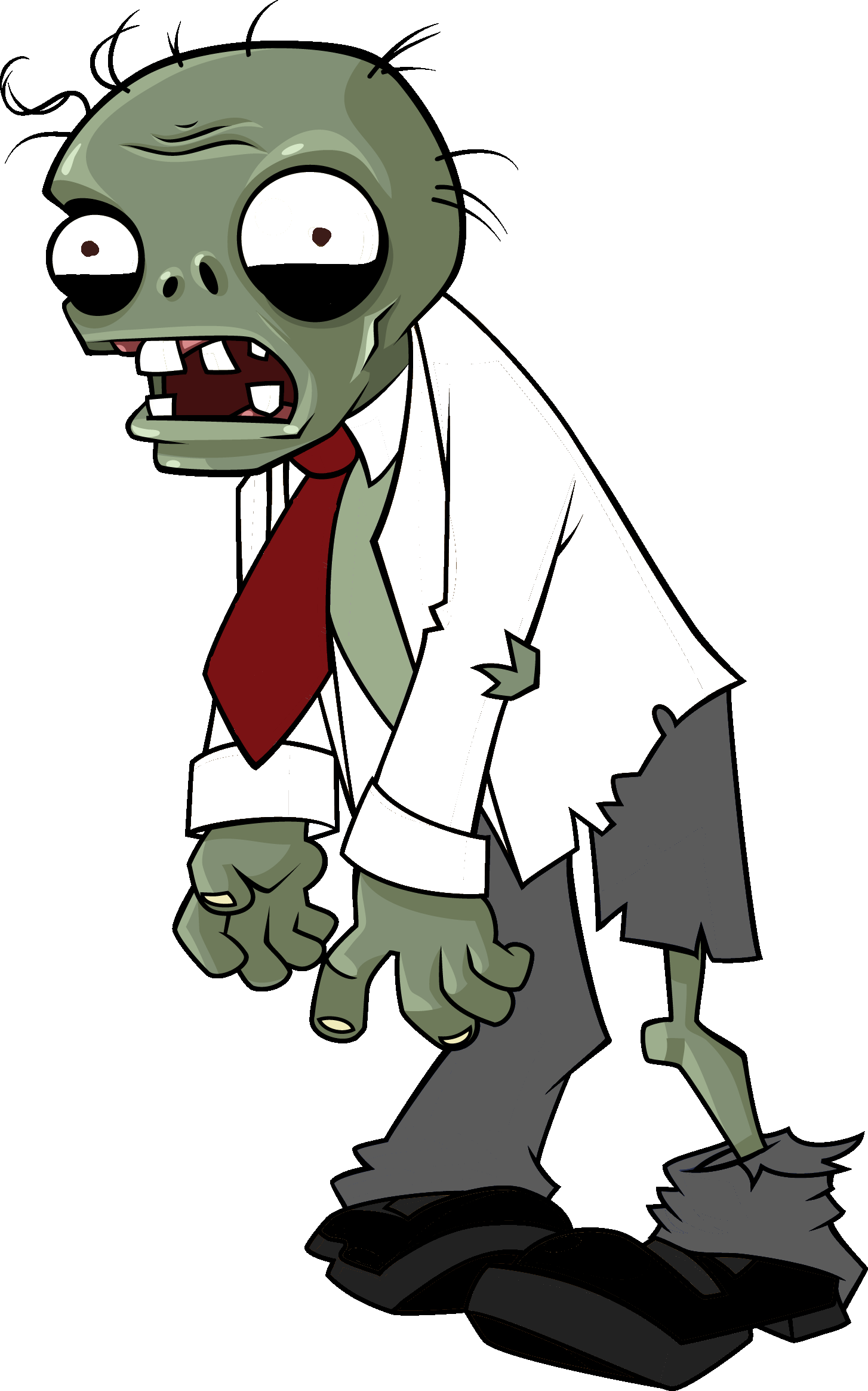 Plants vs zombies zombie characters png. Image louis the fallen
