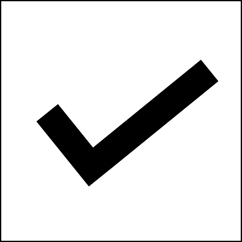Png checkbox. Checked svg icon free