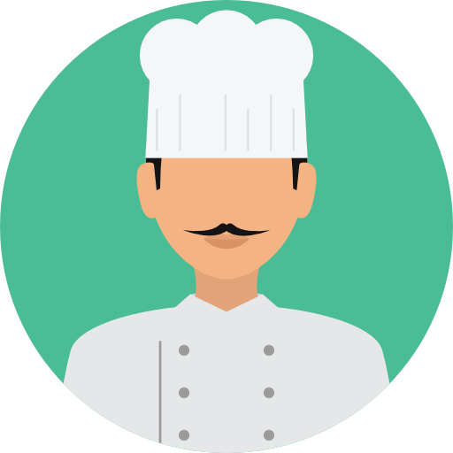 Png chef jobs. User profile avatar job