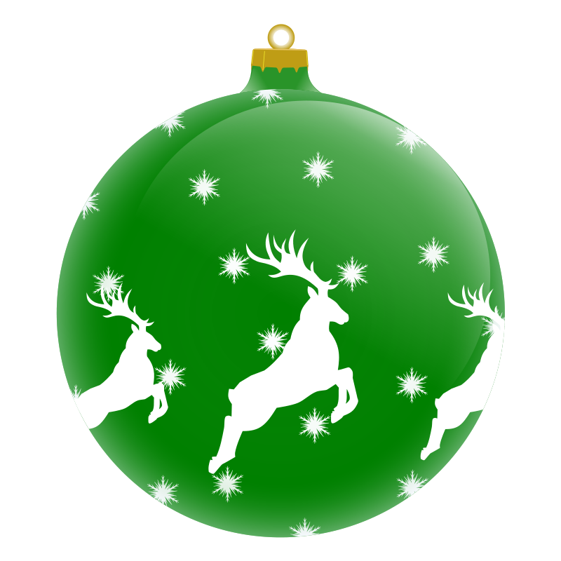 Png christmas tree with ornaments. Collection of ornament
