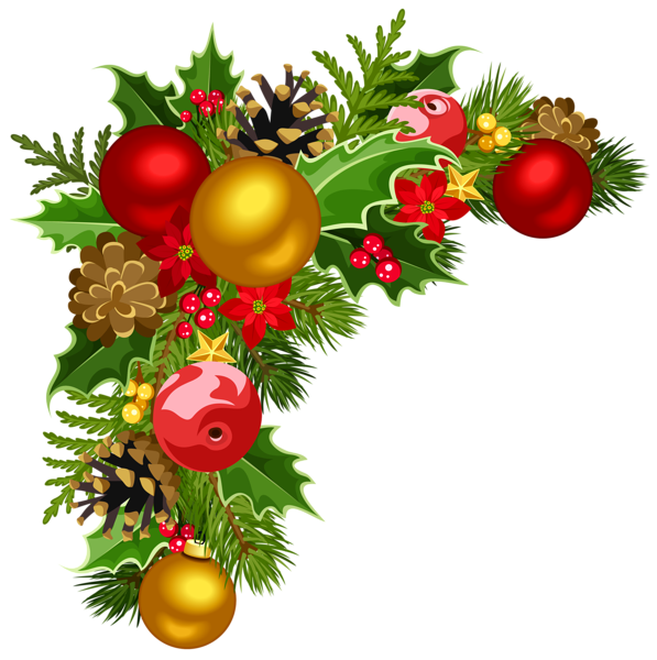 Png christmas tree with ornaments. Decorations clipart at getdrawings