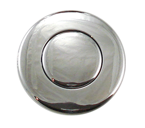 Png chrome button. Dual outlet disposer air