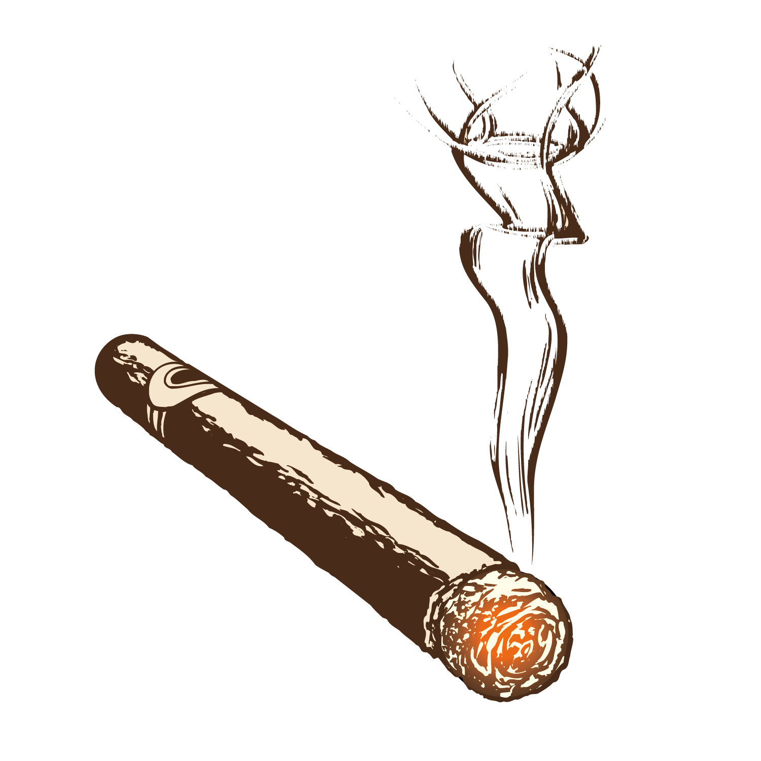cigarettes vector dab