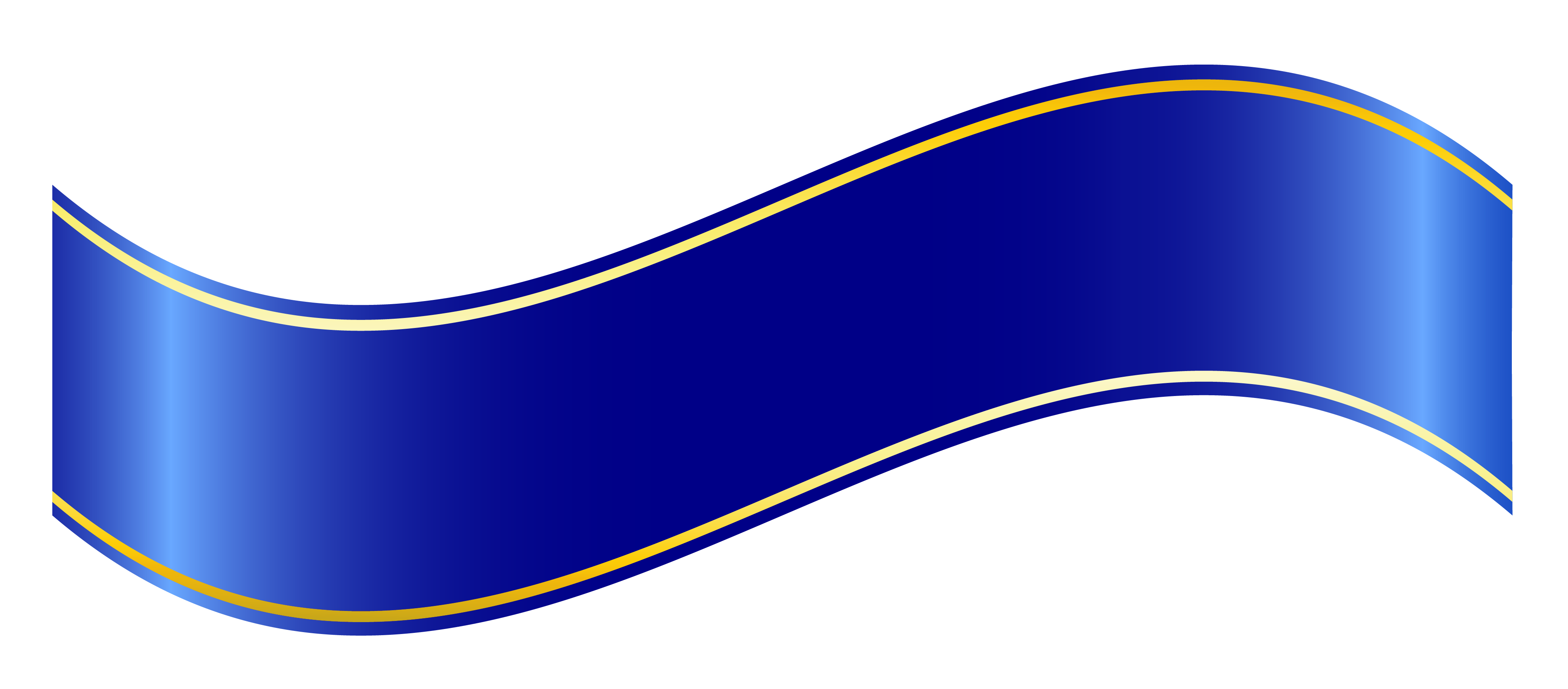 blue ribbon banner png