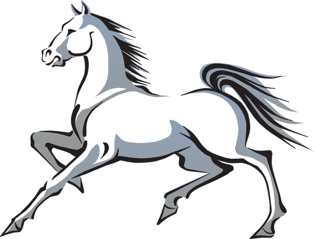 Png clipart white horse hind legs. Free clip art and