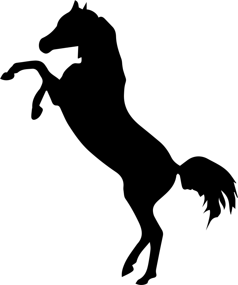 Cowboy svg horse png. Standing silhouette at getdrawings