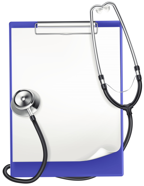 Png clipboard. With medical headphones free