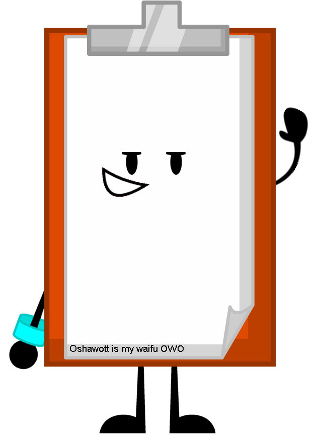 Png clipboard. Image pose object shows