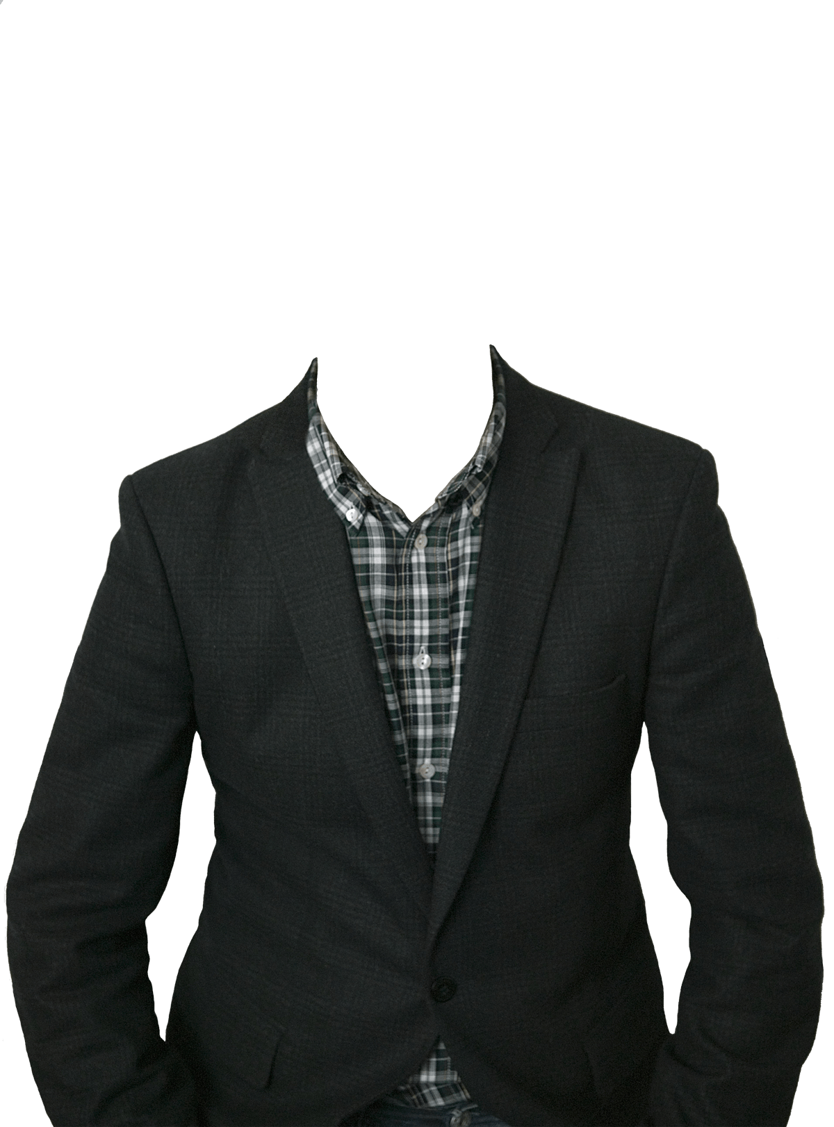 Png clothes. Suit no head transparent