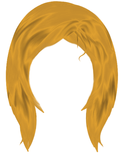 Wig vector yellow. Free clown cliparts download