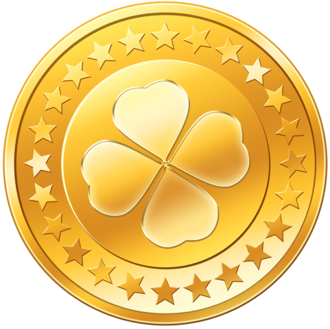 Vector coin gold. Coins money png image