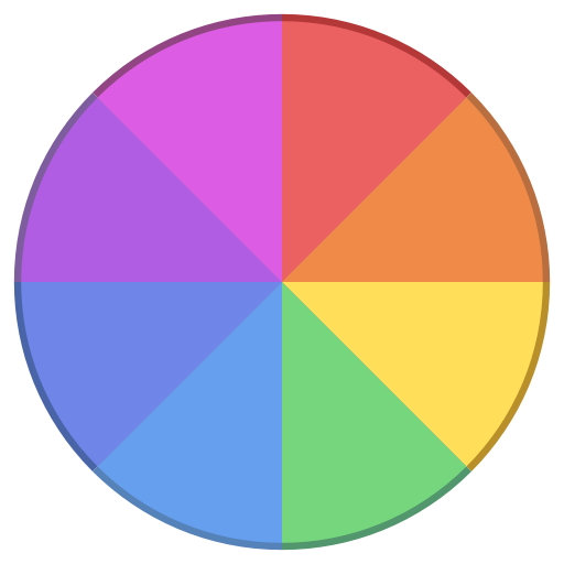 Png color picker. Rgb circle icon free