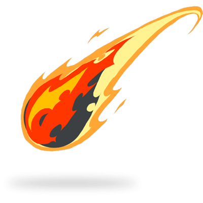 Png comet. Tail drawing fire transparent