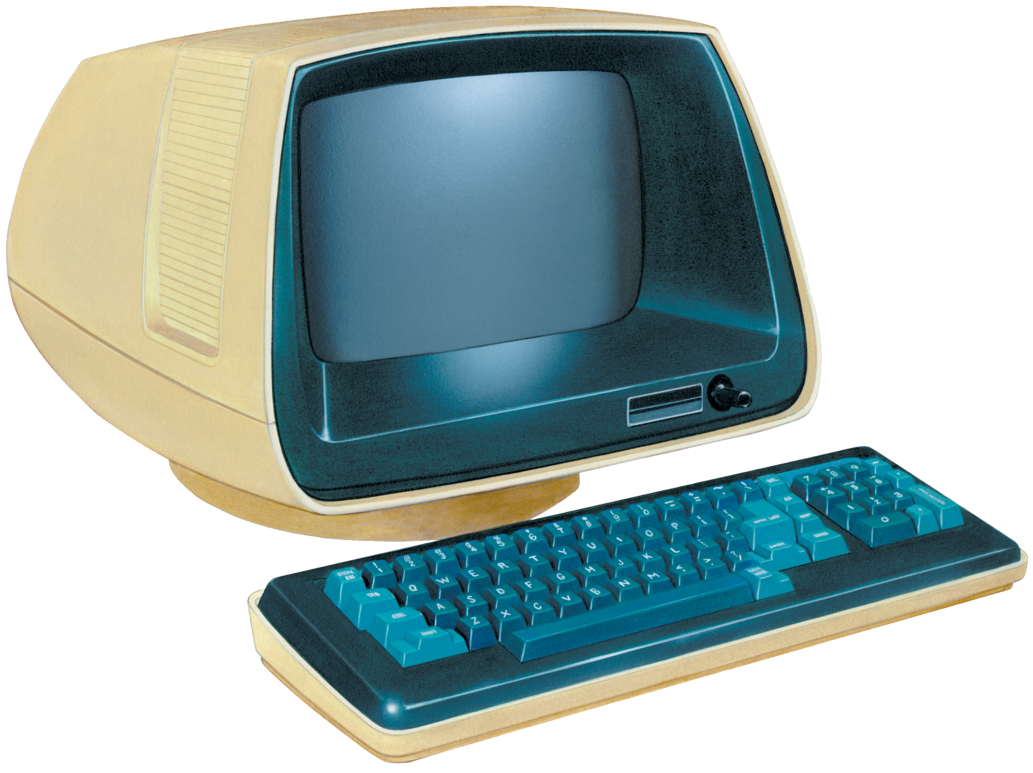 Retro pc png. Computer by absurdwordpreferred on