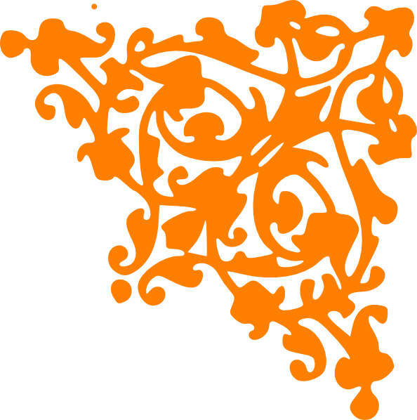 Orange design png