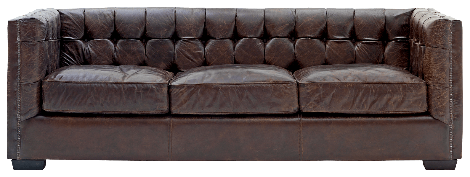 Png couch. Leather sofa transparent stickpng