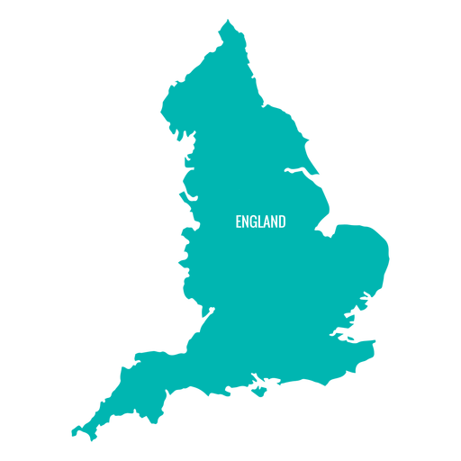Country vector. England map transparent png