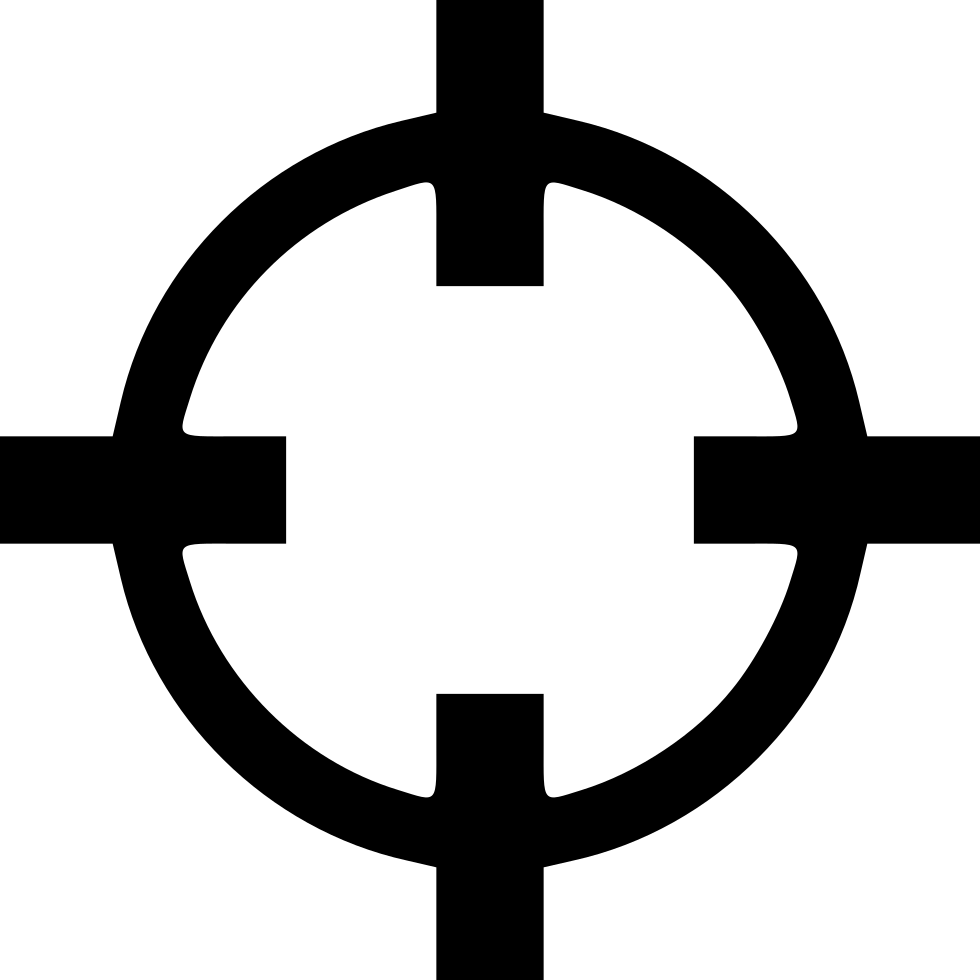 Crosshair.png transparent. Crosshair svg png icon