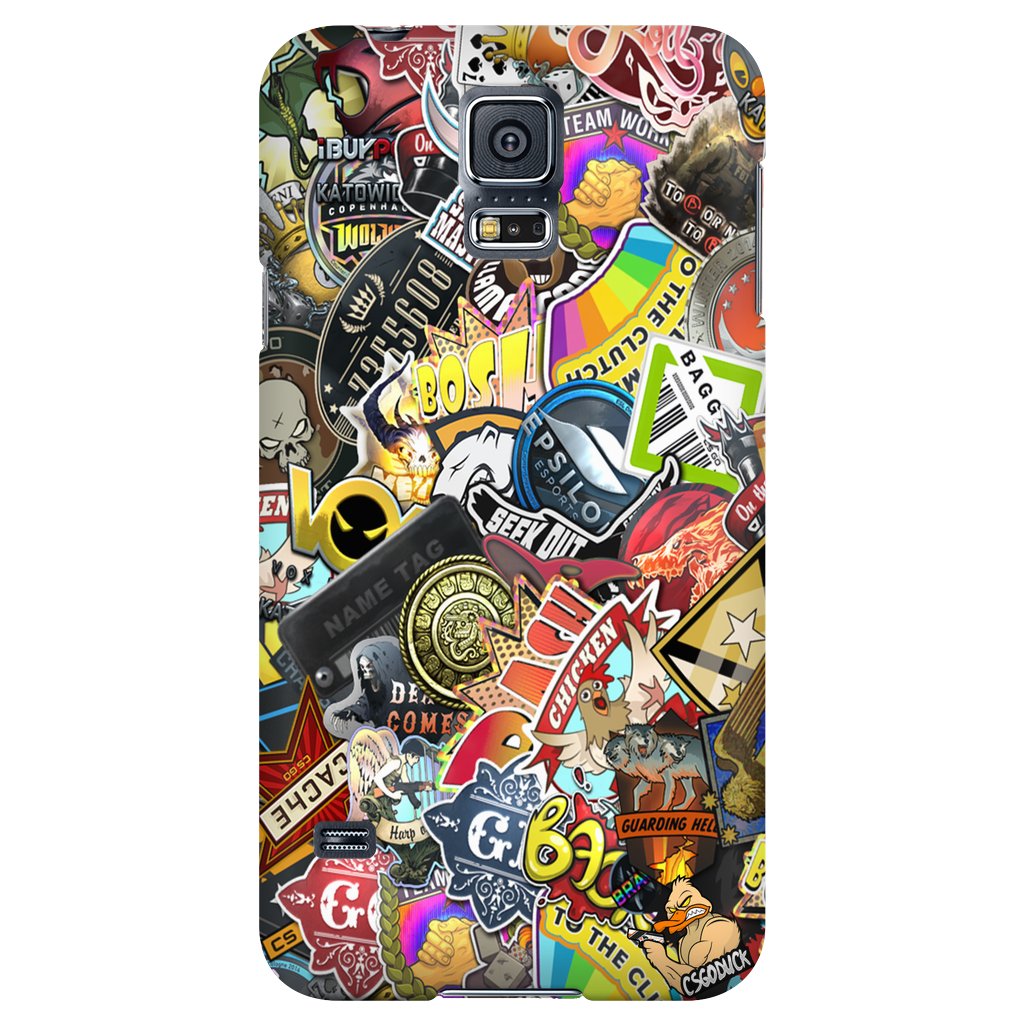 Png csgo. Sticker collection phone case