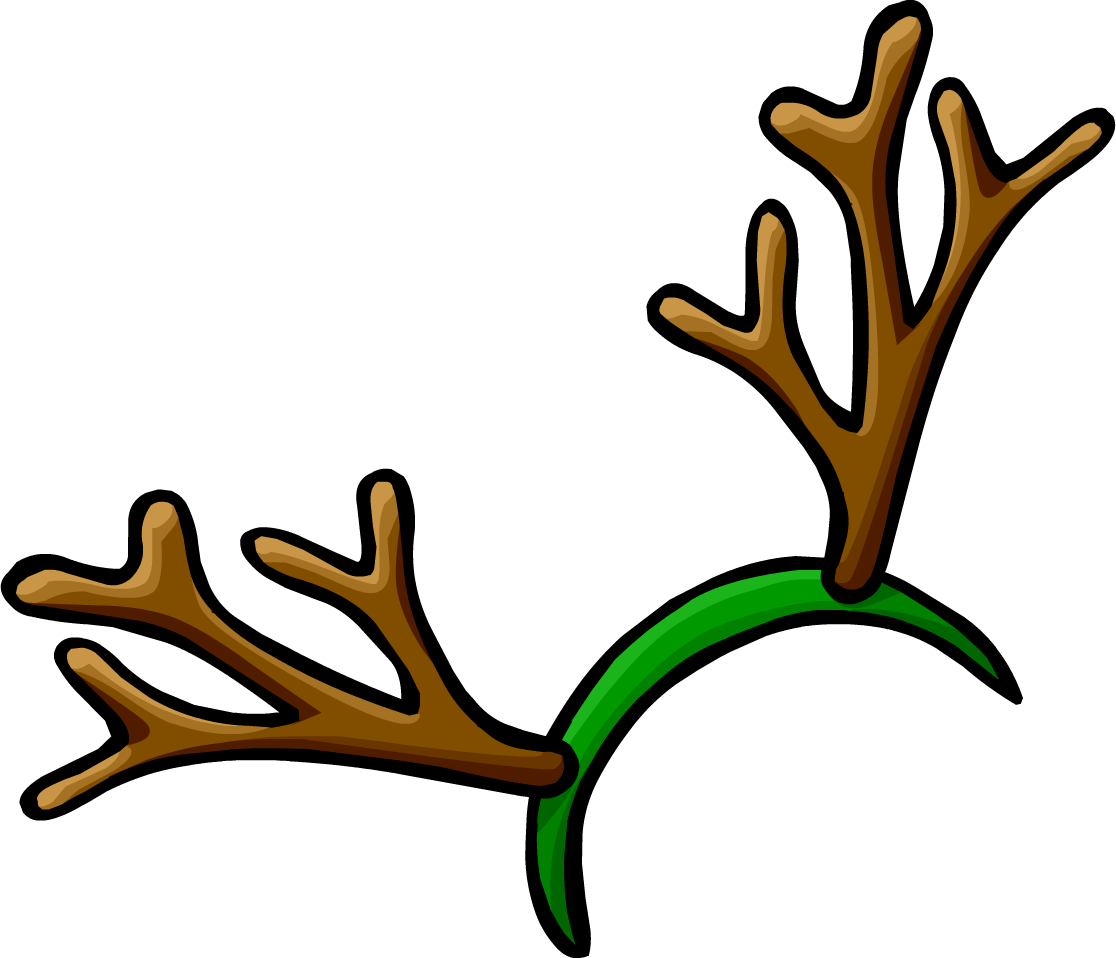 Deer antler clipart at. Reindeer horns png picture black and white library
