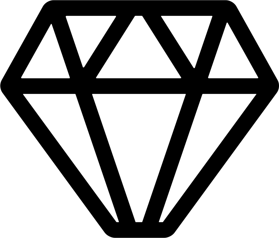 Shape svg diamond. Geometrical png icon free