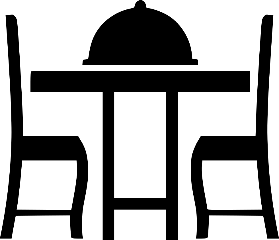 Png dinner. Table ii svg icon