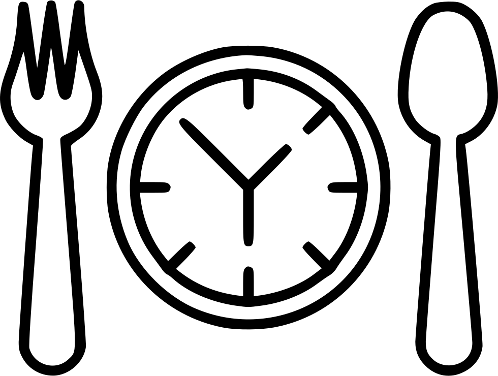 Png dinner. Lunch time svg icon