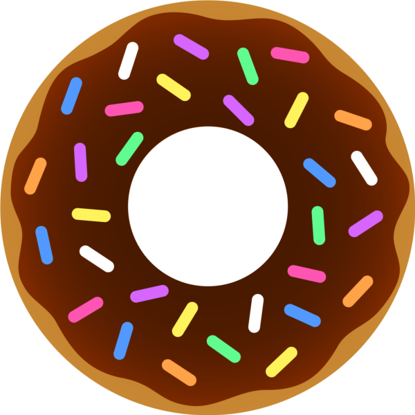 Png donut. Image chocolate sprinkles club