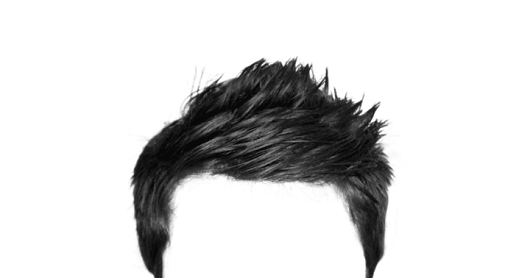 Hair hd transparent images. Png file download for picsart picture black and white download