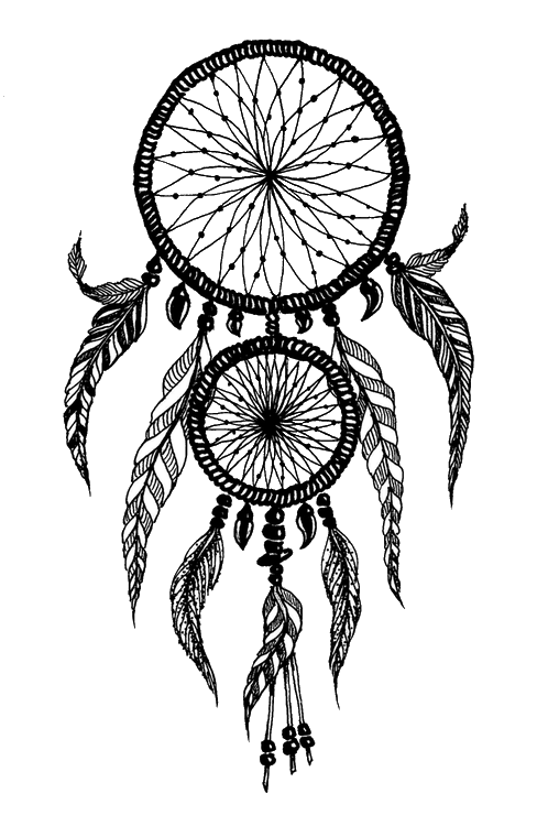 Drawing creativity dream catcher