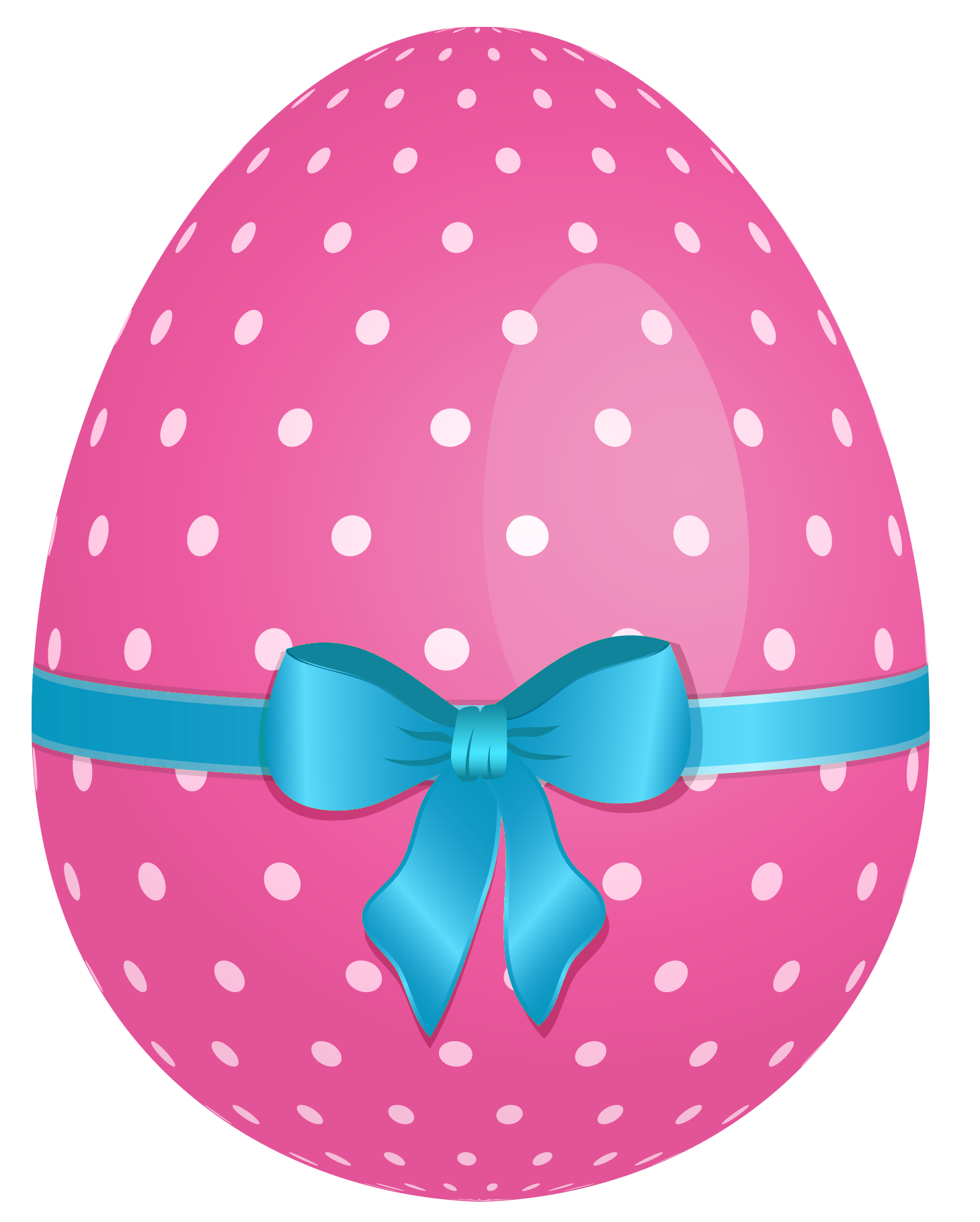Eggs vector one plastic. The easter bunny has
