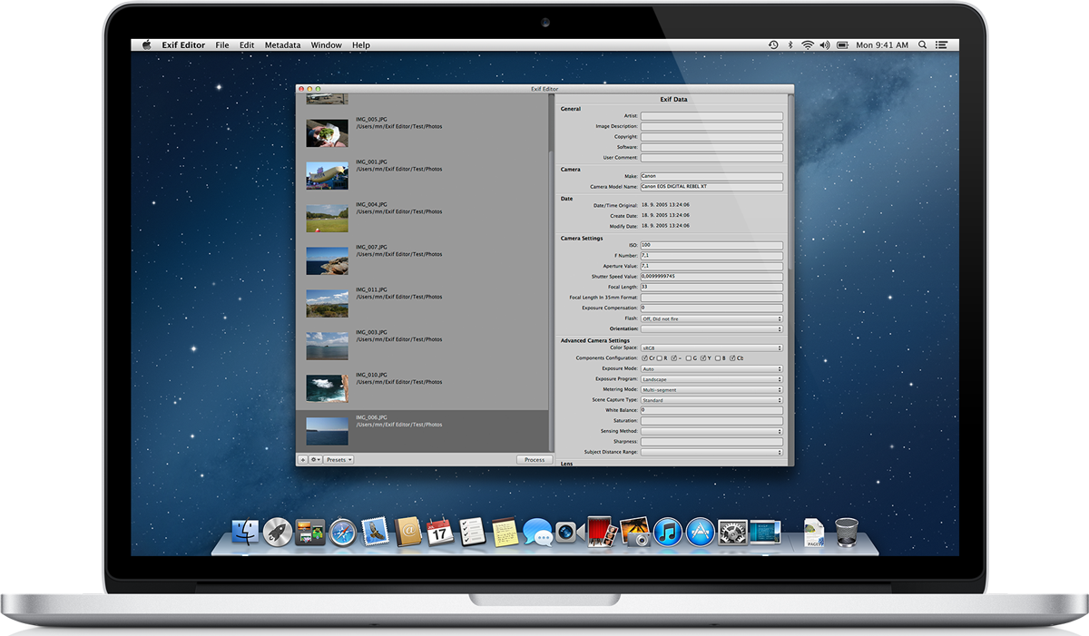 Edit png mac. Exif editor released for