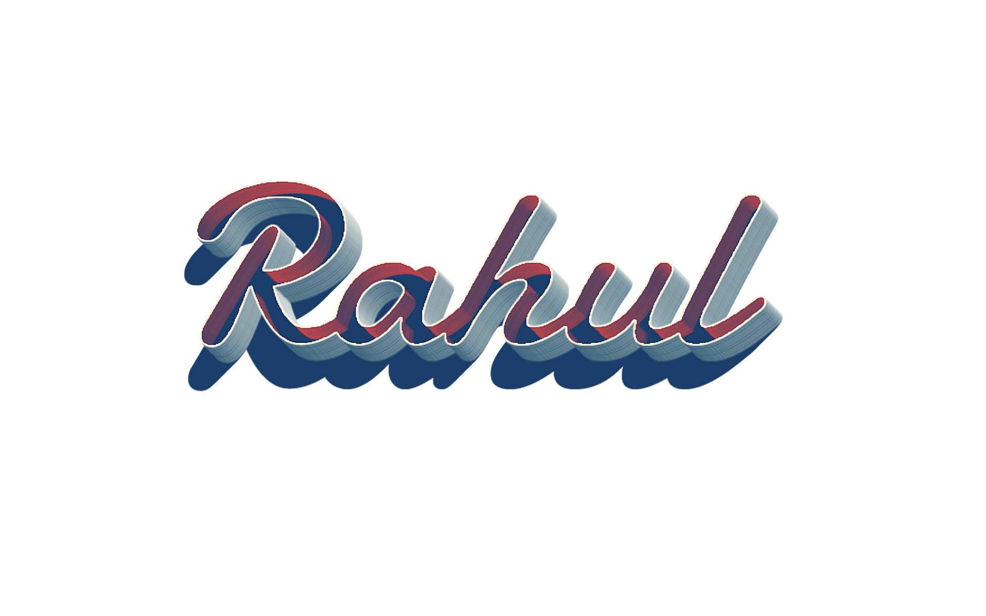 Png effect name. Rahul ready made logo